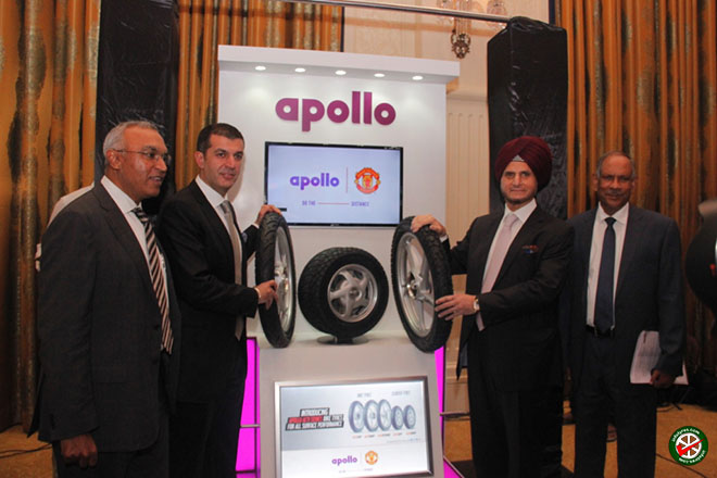 Unveils 'Apollo Acti' series tyres for Motorcycles and Scooters